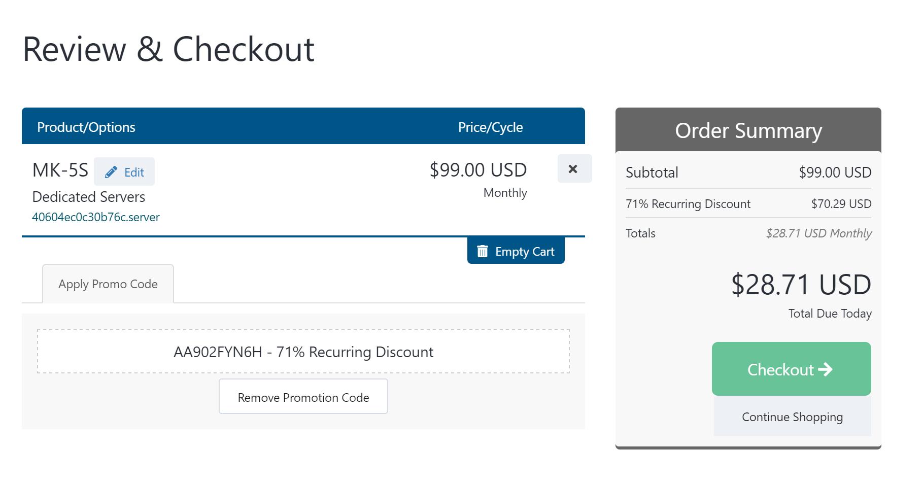 蘑菇云MOACK:$28.71/月 2*E5-2630L/32GB内存/1TB HDD/10Mbps带宽/不限流量/韩国独立服务器插图